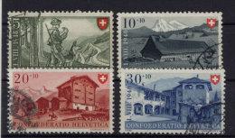 Schweiz Michel No. 508 - 511 gestempelt used