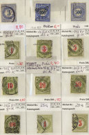 Lot Schweiz Dienst gestempelt used / 12 Werte