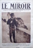 LE MIROIR N° 78 / 23-05-1915 ALBERT 1er DARDANELLES CUIRASSÉ GABRIELE D´ANNUNZIO LUSITANIA GARIBALDI VAUQUOIS ZOUAVE - Oorlog 1914-18