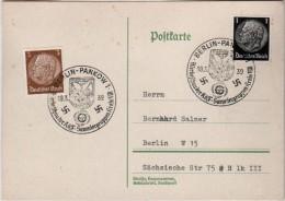 Allemagne Carte  Correspondance  1939  Berlin Pankow 1 - Briefe U. Dokumente