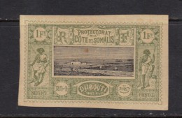 COTE DES SOMALIS N° 17 * - French Somali Coast (1894-1967)