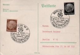 Allemagne Carte  Correspondance  1939  Berlin  W 8 - Briefe U. Dokumente