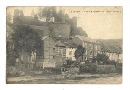 Cp, Belgique, La Roche, Vue D'Ensemble Du Vieux Château, Voyagée 1928