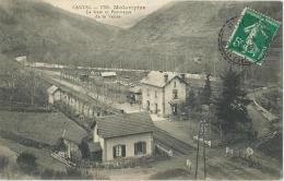 15 - MOLOMPIZE - La Gare Et Panorama De La Vallée - Otros Municipios