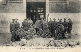 Guerre.513 Ieme RCC.Reparation Des Chars.La Forge - Guerra 1914-18
