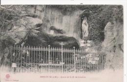 BRULEY (M ET M)  GROTTE DE N D DE LOURDES - Sonstige Gemeinden