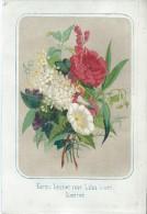 9 Lithos/Colorisées Et Vernissées/ Bouquets De Fleurs/ Vers 1850       GRAV70 - Lithographies