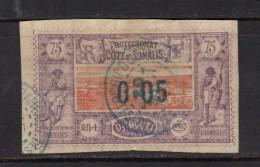 COTE DES SOMALIS N° 23 Obl. - French Somali Coast (1894-1967)