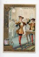 Chromo Liebig - Le Carnaval En Italie - Giandujetta - Liebig