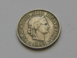 10 Centimes Rappen  1883 B  - Suisse - Switzerland   ***** EN ACHAT IMMEDIAT ***** - Suiza