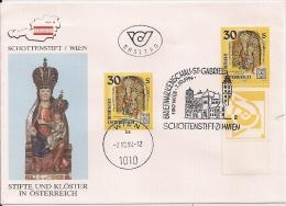 1994 Österreich Yv. 1968 Mi. 2139  FDC Madonna Aus Dem Schottenstift, Wien - FDC