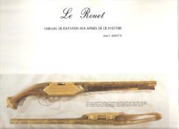 LE ROUET TABLEAU DATATION ARMES SYSTEME PISTOLET