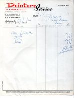 613F) SOISSONS - 02- FACTURE - PEINTURE OGER  - 1961 - Alimentaire