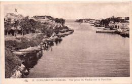 Cpa DOUARDENEZ TREBOUL, Vue Prise Du Viaduc De Port  Rhu (27.24) - Douarnenez