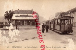 88 - GERARDMER - LE BOULEVARD KELSH - GARE DU TRAMWAY DE LA SCHLUCHT - Gerardmer