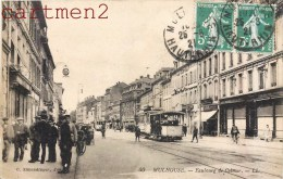 MULHOUSE FAUBOURG DE COLMAR TRAMWAY 68  ALSACE - Mulhouse