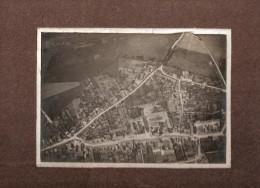 PHOTO TELEPHOTOGRAPHIE EN BALLON LIBRE MONTGOLFIER 1908 LEGLANTIERS OISE  PAR MOUSSARD - Lieux