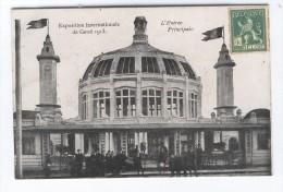 Exposition Internationale De Gand 1913 L'Entrée Principale - Gent