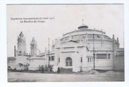 Exposition Internationale De Gand 1913 Le Pavillon Du Congo - Gent