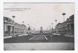 Exposition Internationale De Gand 1913 La Cour D'Honneur - Gent