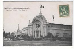 Exposition Internationale De Gand 1913 Le Pavillon De La Ville De Paris - Gent