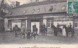 22618 Chasse à Courre -CELLE LES BORDES Duchesse Uzes Equipage- 37 Bourdier Faucheux Meute Cheval Cor