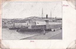 FIU90   --  FIUME  --  PORTO   --  DAMPFER  --  STEAMER  --   SHIP - Croatia