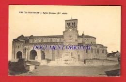 Allier - CHATEL MONTAGNE - Église Romane ..... - Other Municipalities