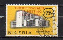 Nigeria 1966 / Mi 189 - Overprint - Set Used (o) - Nigeria (1961-...)