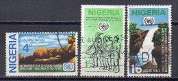 Nigeria 1969 / Mi 226/28 - Set Used (o) - Nigeria (1961-...)