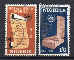 Nigeria 1970 / Mi 235/36 - Set Used (o) - Nigeria (1961-...)