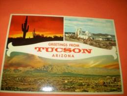 B44 Arizona Tucson Vedute Viagg. - Cartoline