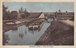 ¤¤  -  BANNAY   -  Pont Du Canal  -  Péniche , Batellerie   -  ¤¤ - France