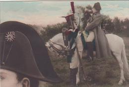 22634 Napoleon  Cpa 1910  Sans éd- Soldat Cheval Empereur Costume Tricorne Empire