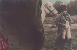 22637 Napoleon  Cpa 1910  Sans éd-  Empereur Costume Tricorne Empire Cheval