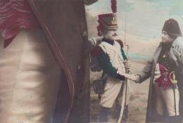 226340 Napoleon  Cpa 1910  Sans éd-  Empereur Costume Tricorne Empire Soldat Grognard