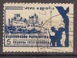 Locales Segovia Galvez 668 (o) Alcazar - Vignette Della Guerra Civile