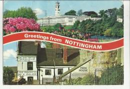 74960 Greetings From Nottingham - Nottingham