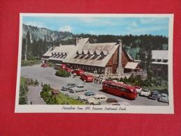 Paradise Inn Mt Rainier National Park Wa Classic Autos Not Mailed  Ref 1175 - Estados Unidos