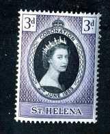 1447  St.Helena 1953  Scott #139  M* Offers Welcome! - St. Helena