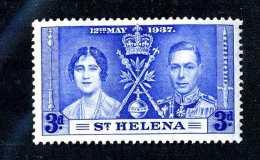 1449  St.Helena 1937  Scott #117  M* Offers Welcome! - St. Helena