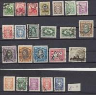 Lituanie - Lithuania - Lietuva 1925 - 1929   Lot De Timbres Oblitérés Sauf 2c Fil A * MLH - Lithuania