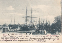 FIU118   --  FIUME   --  CANAL DA FIUMARA   --  SHIP   --  KOHLENTRANSPORT  --  1900 - Croatia