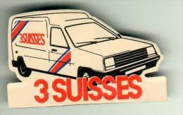MAGNET - 3 SUISSES - Renault Express - Publicitaires