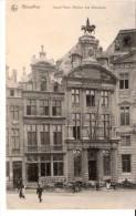 Bruxelles-1913-Gd'Place-Maison Des Brasseurs-A La Rose Blanche-2x D.J. Spaans, Purmerend-Tbe COB 111-Ixelles-Elsene - Places, Squares