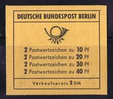 1972  Carnet Prévention Des Accidents  MiNr MH 4a  ** - Berlin (West)