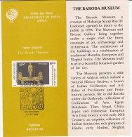 Stamped Information Baroda Museum, For Art, Archaeology History, Bronze (Mineral) Rishabhanatha Of Jain,  India 1994 - India