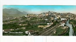 PENNE,panorama Dalla Stazione-1961-TASSATA- Cartolina F.to 20,8x8,8 Cm. - Pescara