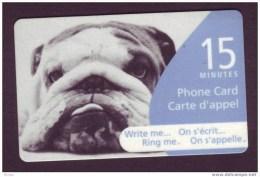 Canada, 2005, Télécarte, Chien, Dog - Perros