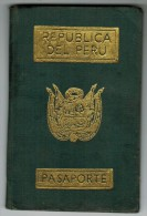 Peru 1981 Passport Reisepass Passeport Pasaporte #697095 - Historical Documents